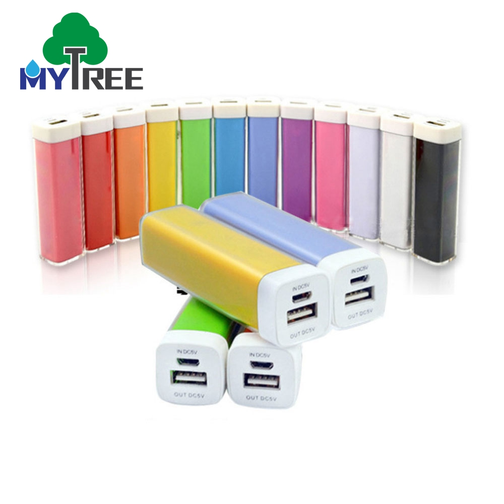Mytree China Mini Lippenstift Power 18650 2600 mah Power Bank Für Geschenk