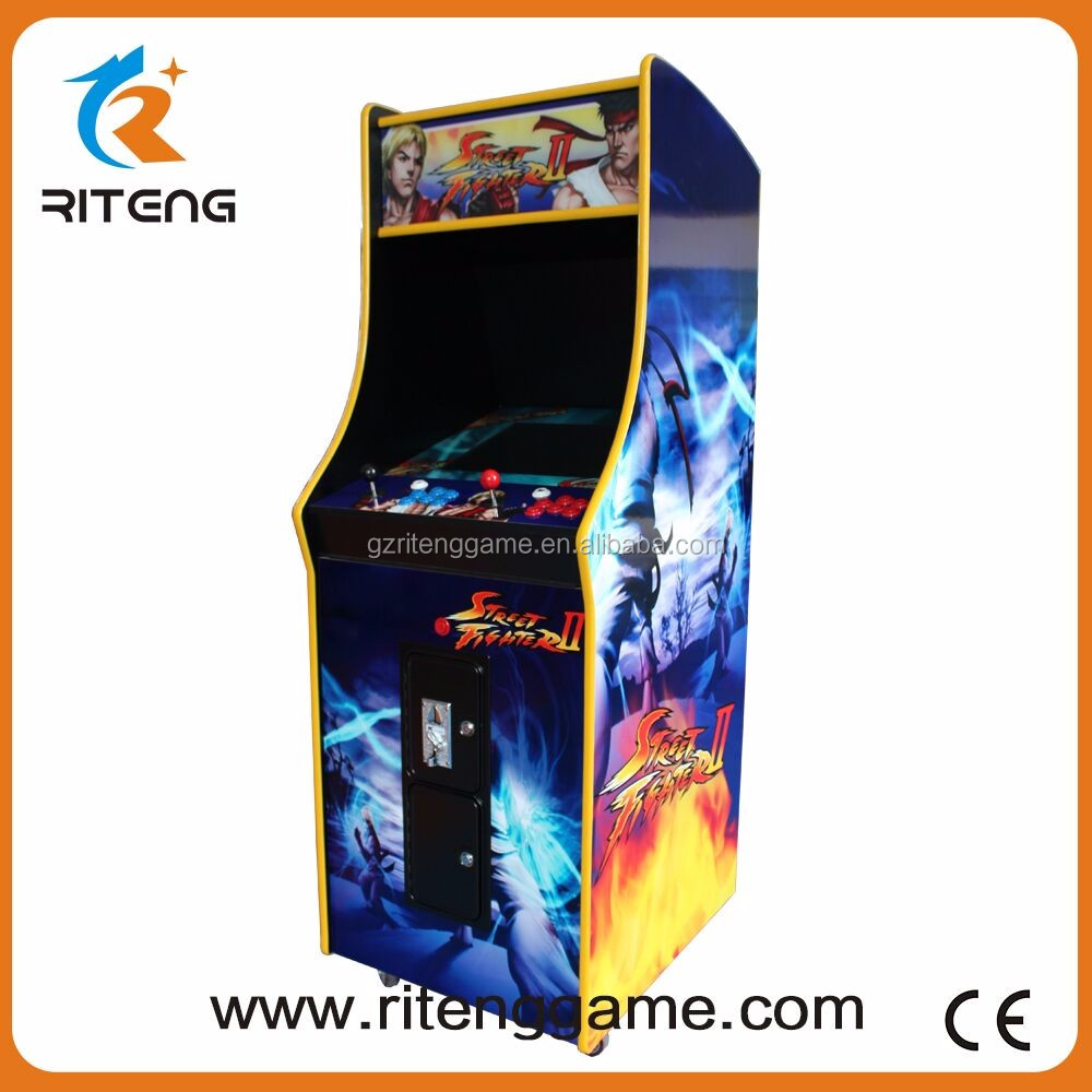 Classic Multi Games Wooden Arcade Cabinet Kit With Pandora S Box ...