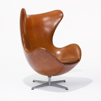 Aviation Egg Chair/Vintage Settle Furniture Cashmere/leather Leisure Chair