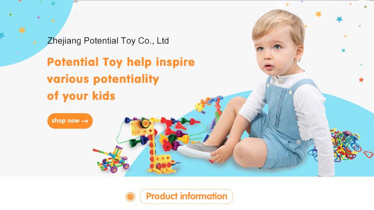 Fashion leuke mensen speelgoed piramide figures kinderen speelgoed educatief plastic bouwstenen