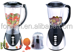 Powerful chrome blender with 1.5L jar and mill with CB certificate