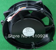 Free Shipping DC24V 2.07A Server Cooling Fan For ebm-papst W1G180-AB19-06/A01 Server Round Fan 200x200x70mm 4-wire