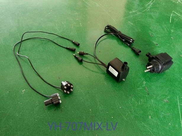 Yuanhua Dompelpompen Fontein Pomp Met Led-verlichting - Buy ...