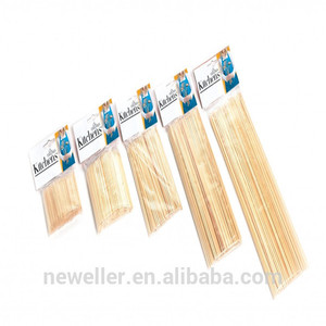 2014 Hot Selling timber raw material bbq tools sticks