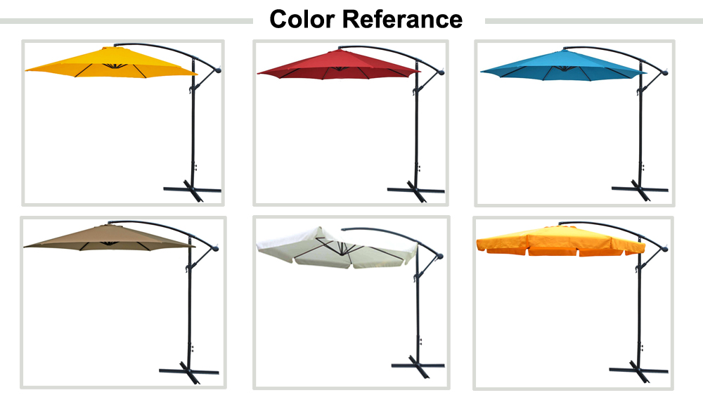 c8c4b4d7f8a86 banana outdoor umbrella 300cm side pole garden umbrella 270cm hanging  bistro parasol 10 feet pool hanging. >>>>