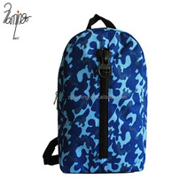 Top quality 600 D oxford camo fabric outdoor travel backpack hiking bag
