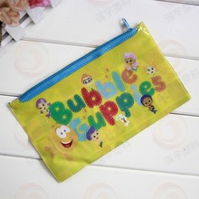 New product clear plastic recyclable waterproof shopping pencil cosmetic pvc zipper bag