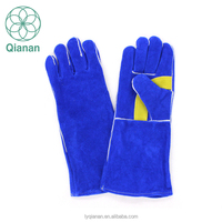 2017 Hot Selling Custom Cow Leather Welding Hand Gloves