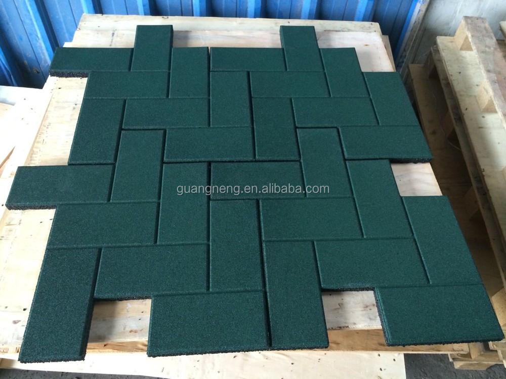 Fußbodenbelag Gummi ~ Kommerziellen puzzle gummi turnhalle fußboden matte interlock