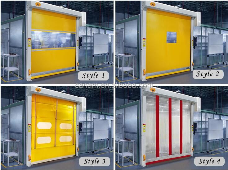 Industrial Warehouse Automatic Fast Doors