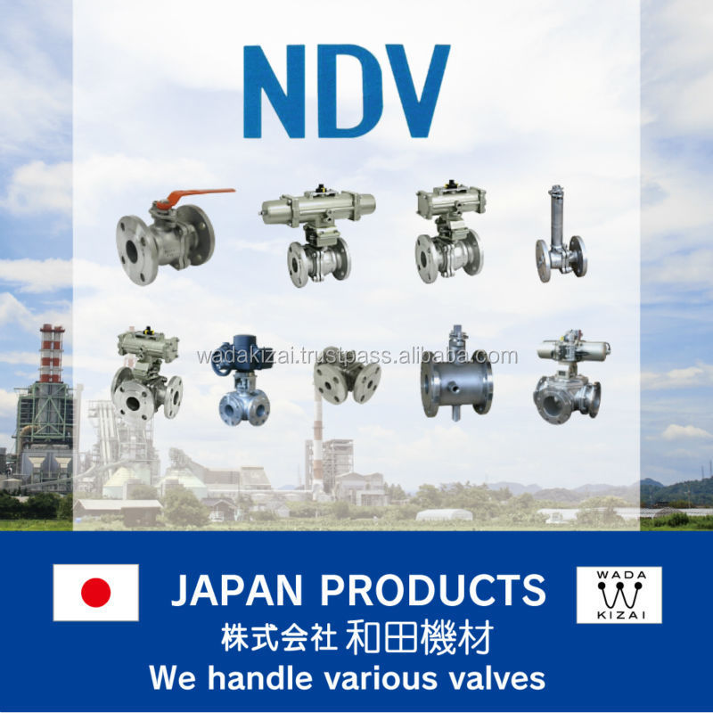 Type stem long stem ball valve , nippon daiya valve