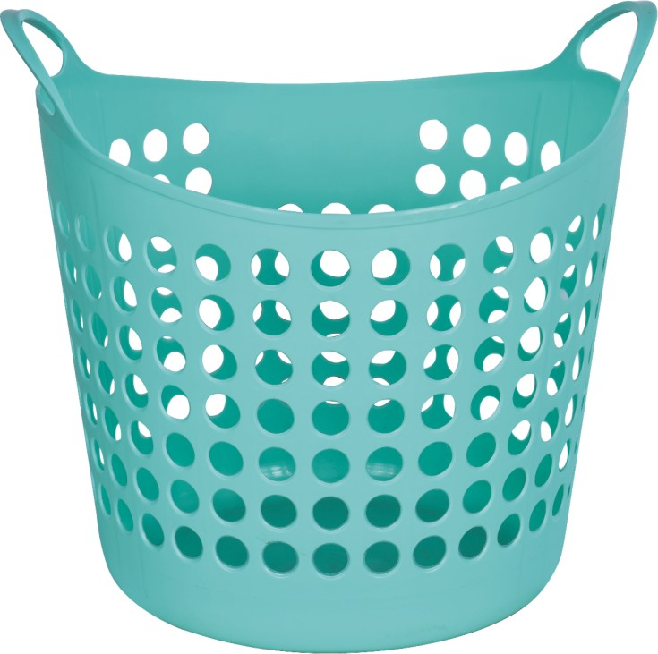 Household Plastic Colorful Laundry Hamper 38l 20l Dirty Clothes Basket Product On