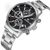 SKONE 7390 new coming design cheap chronograph watch for men