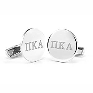 Pi Kappa Alpha Sterling Silver Cufflinks