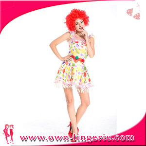 Sexy Clown Costume Female Wholesale 980a7a68460c