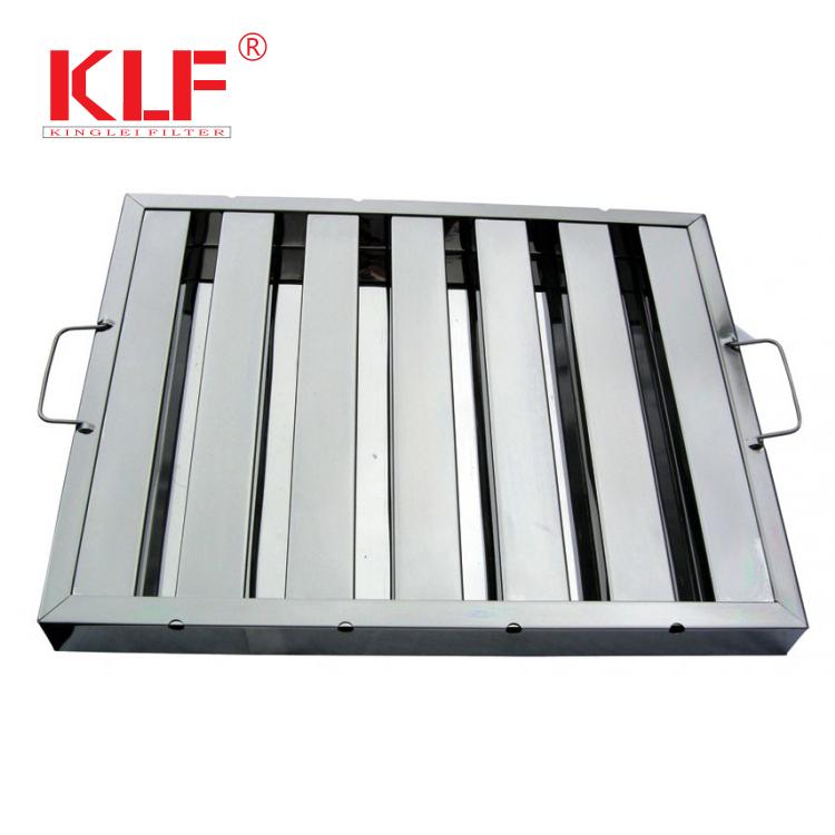 Stainless Steel Kitchen Range Hood Baffle Filter