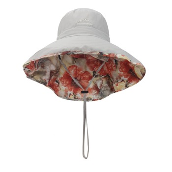 0e1d01511ffda Double sided available uv protect floral bucket hat with string bulk  wholesale