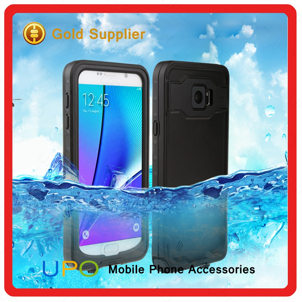 [UPO] 2016 Shockproof Dirtproof Durable Hybrid Rubber TPU Waterproof Mobile Phone Case for Samsung Galaxy Note 5
