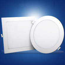 Dimmable תקרת 6w 15w 18w 7 9 ואט retrofit כיכר שקוע led <span class=keywords><strong>downlight</strong></span>