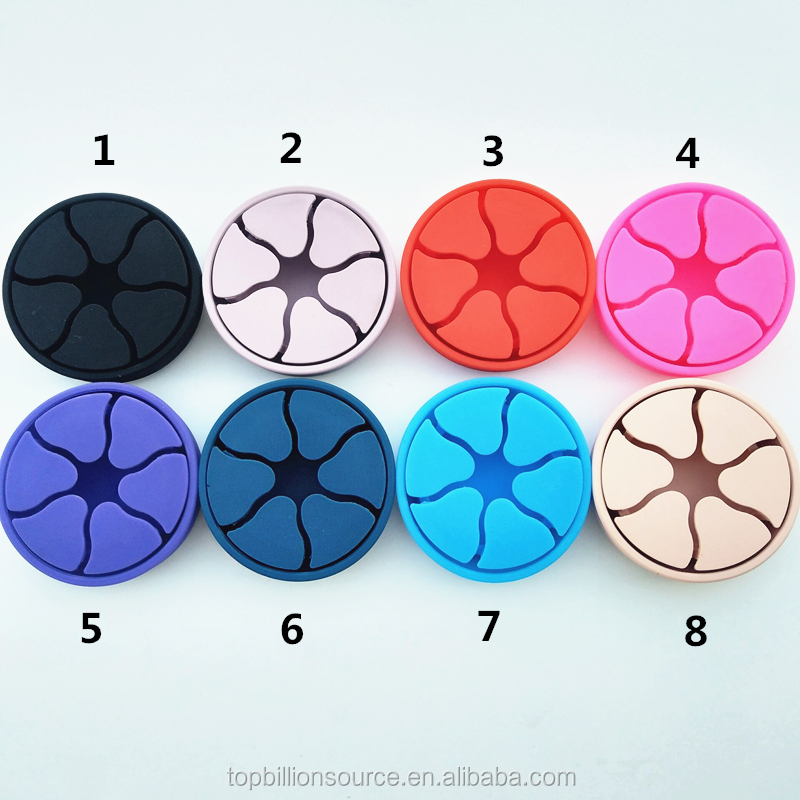 New products portable FDA earphone silicone cord holder cable winder