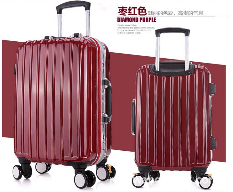Cathylin 2016 unique carry on travel hard shell suitcase airport ...