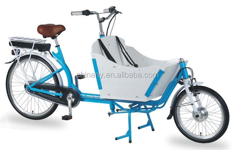 Bakfiets City Electric Cargo Bike Tricycle Kid Bike Bicycle For