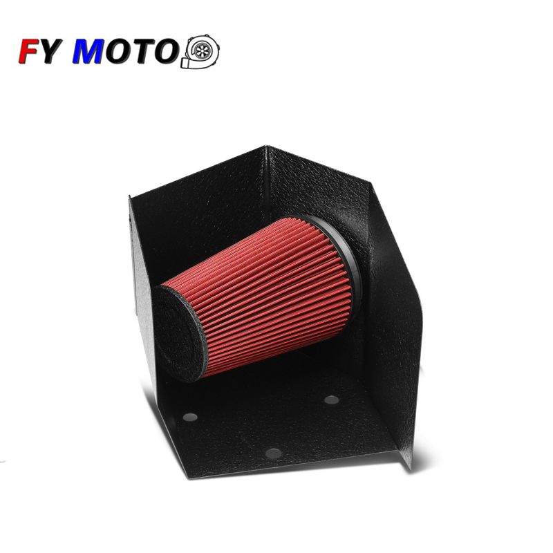 "3.5/"" Cold Air Intake Filter Universal RED For RAM 3500//4000//4500//5500 All Models"