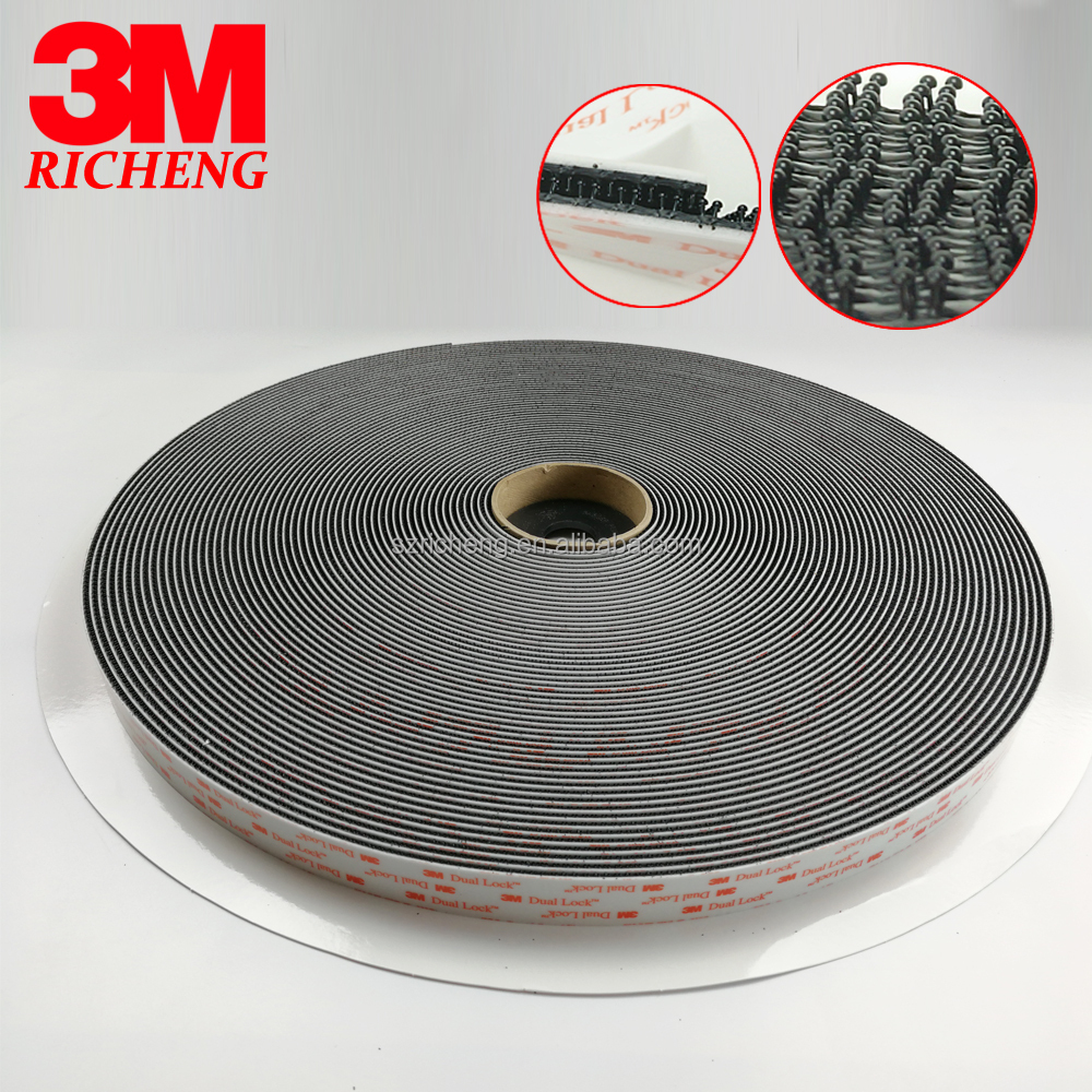 3M SJ3550 dual Lock die cut 10mm circle 20mm circle f tape high quality black adhesive fastener tape