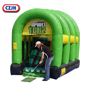 inflatable outdoor park mini sport golf chipping dart game for adults