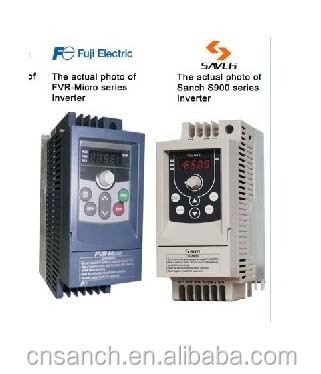 Sanch the same to Fuji-Micro series 1.5Kw 380v 3 phase frequency converter 50hz to 60hz