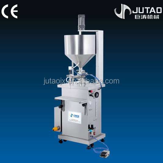 High efficiency semi-automatic ketchup/cheeze filling machine