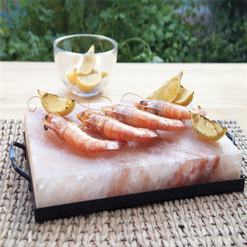 Himalayan Salt Block, Plate, Slab for Cooking, Grilling, Seasoning, And Serving