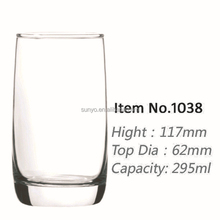 High quality lead crystal high ball glass factory in stocks clear transparent popular model high end