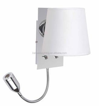 Witte Stoffen Kap Nachtkastje Hotel Wandlamp/wandlamp Met ...