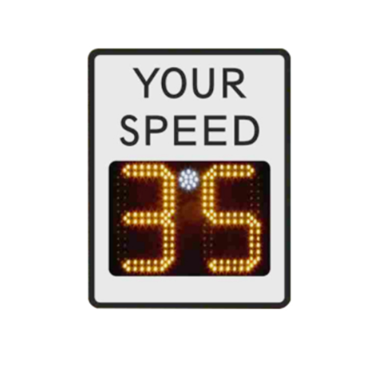 HanKun outdoor customized solar powered radar speed led sign display