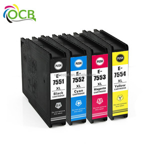 OCBESTJET T7541 T7542 T7543 T7544 high quality ink cartridge for Epson WF-8590DWF/ WF-8590 DTWF