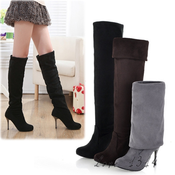 d75e65fa7 2016-newly-winter-font-b-women-b-font-over-the-knee-thigh-high-font-b-boots  botas altas mujer grises