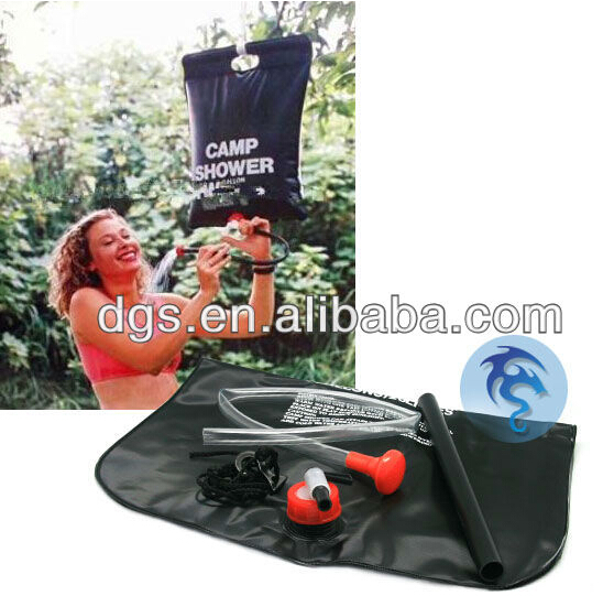 Hot Sale Outdoor Products New Design Camping Shower Bag / Hanging Shower Bag / Portable Shower bag