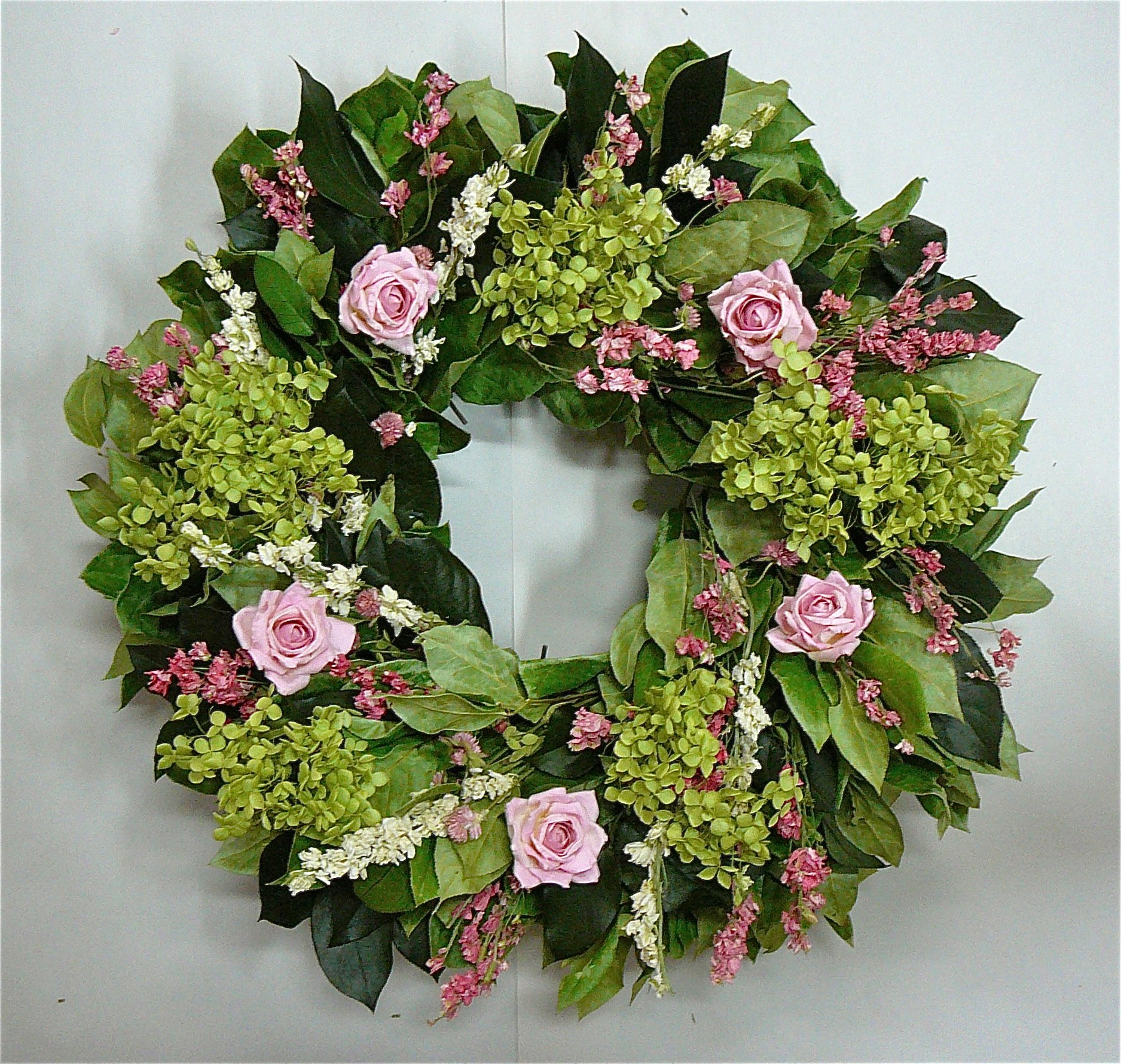 Cheap wreath dried flowers find wreath dried flowers deals on line get quotations spring wreath annabell the lush beauty dried flower wreath izmirmasajfo