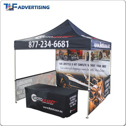 Easy to install Dye-sublimation table cloth