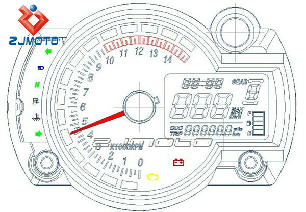 Electric Speedometer With Odometer Wiring Diagram Great