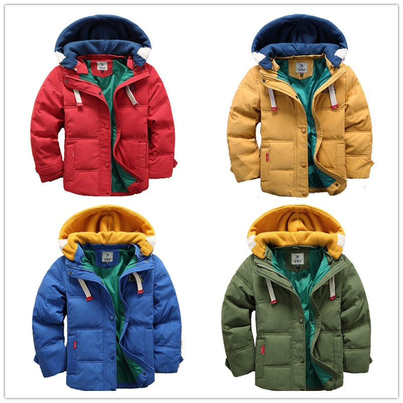 4Color 2015 Kids Winter Korean Solid Coat&Jacket,New Girls Winter High quality Cotton Outwear,Baby Boys Casual Outerwear & Coats