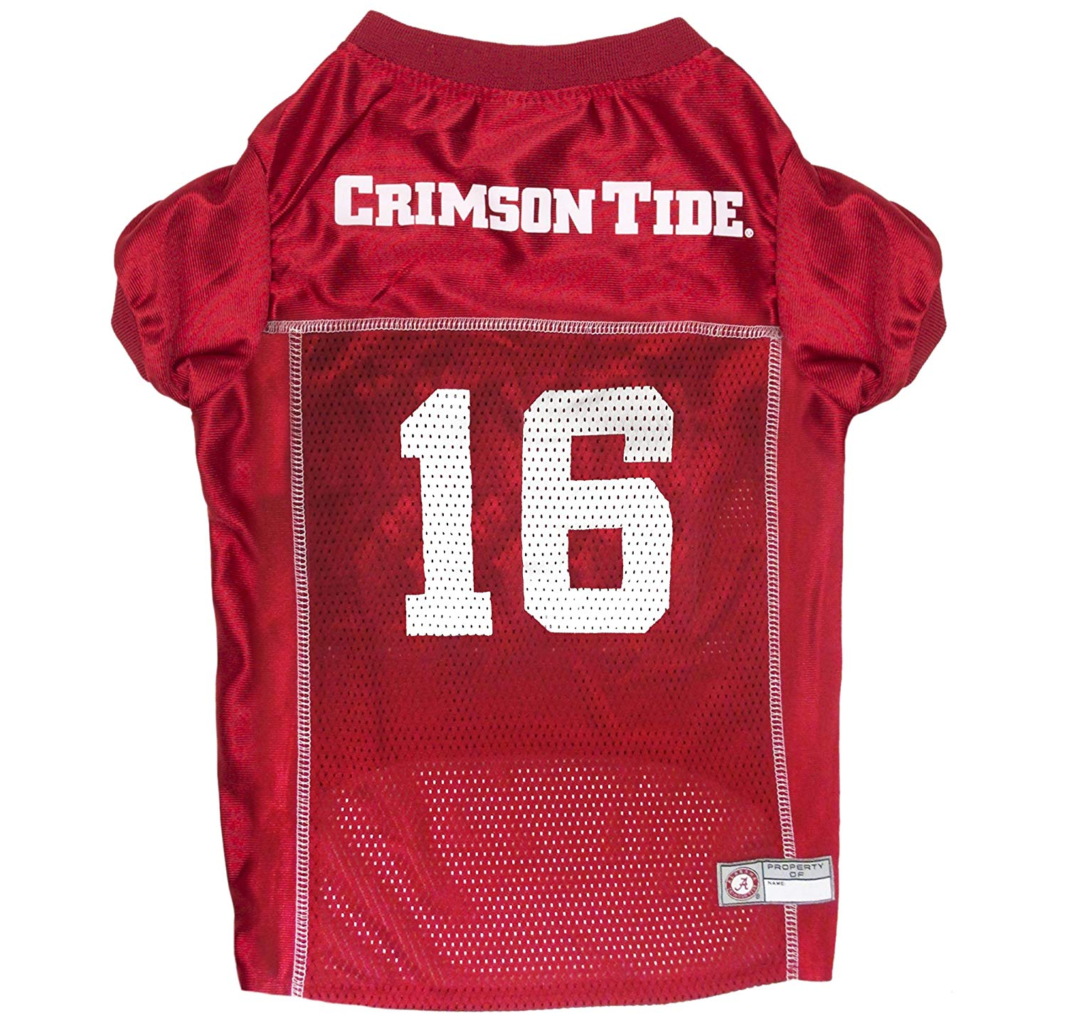 bef0c7994 Get Quotations · Pets First NCAA ALABAMA CRIMSON TIDE Pet Jersey. - College  Pet Jersey. - Football