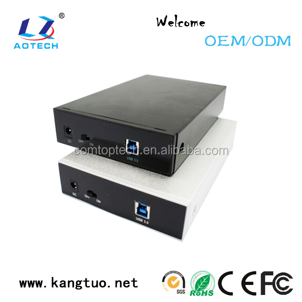 factory OEM usb 3 to 3.5 hdd enclosure