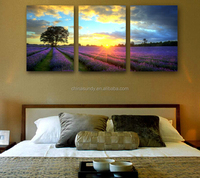 Professional factory provide sunset seascape photography canvas printing for sale