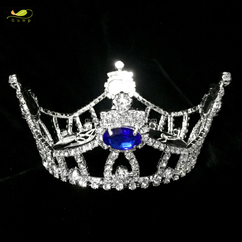Mini full round crown doll round crowns