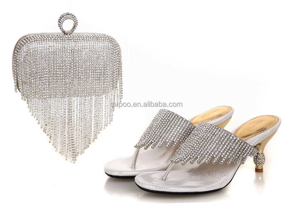 2015 Party Wholesale high quality Matching for wear Shoe Italian and Set Bag ZZqAr