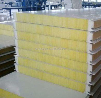 Rock Wool Wall Insulated Panels Aluminum Rockwool Sandwich Panel For  Garage,Storage,Plants - Buy Rock Wool Wall Panel,Rock Wool Board,Rock Wool