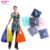 Waterproof Lightweight Foldable Washable Reusable Grocery Shopping Tote Bag Eco-Friendly Purse Bag Fits In Pocket