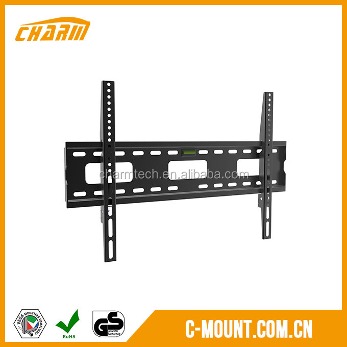 Customizable Fixed universal lcd led plasma flat flush tv wall mount